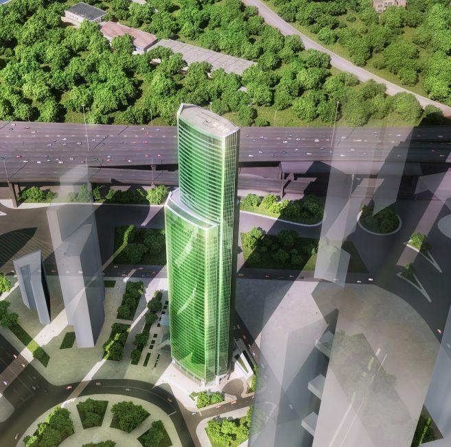 Фото ЖК «Башня Евразия»